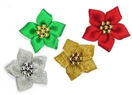 423-16GP Satin Stars with Gold Pearls - Full Colour Range