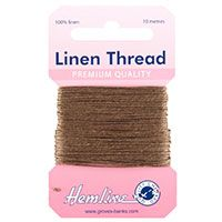 H1001\03 Linen Thread: 10m - Khaki
